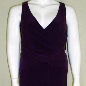 Ralph Lauren NWT Surplice Bodice Sleeveless Dress